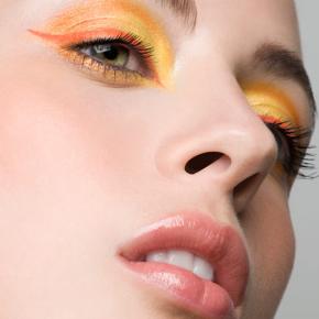 025-Kate-Johns-Make-up-Artist-Yellow-Eyeshadow-Orange-Eyeliner-beauty1